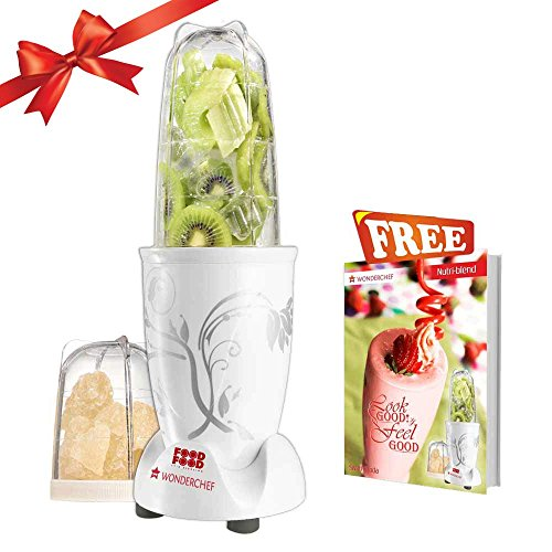 Wonderchef 400 Watt Nutri-Blend, White(Freebies may vary)
