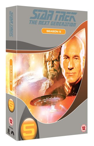 Star Trek The Next Generation - Season 5 (Slimline