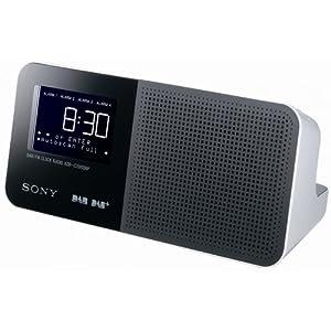 sony xdrc706dbp dab dab digital clock radio sony tv. Black Bedroom Furniture Sets. Home Design Ideas
