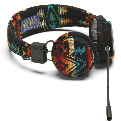 Urbanears Plattan Pendleton Limited Edition Headphones Mic Zoundplug 04090170 front-174098