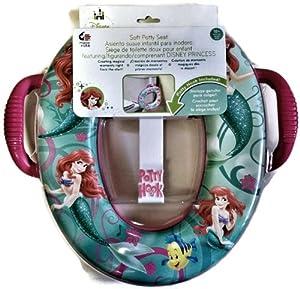 Little Mermaid Ariel Soft Potty Seat with Potty Hook
