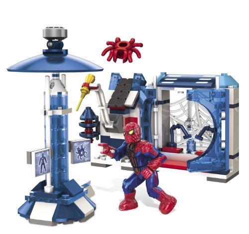The amazing Spider-man Oscorp Spider Lab Amazon.com