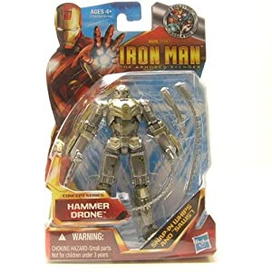 "Iron Man 3.75"" Series - Hammer Drone action figure"