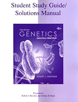 Student Study Guide/Solutions Manual to accompany Genetics