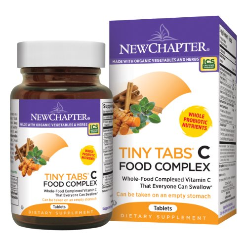 New Chapter Tiny Tabs C Food Complex, 240 Tablets