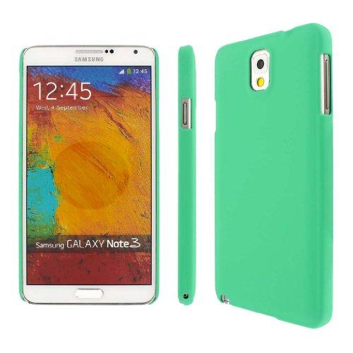 MPERO SNAPZ Series Gummierte Case Tasche Hülle für Samsung Galaxy Note 3 N900A / N900V / N9000 / N9002 / N9005 / N900P / N900T - Mint