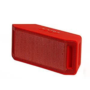 E-calorie Frank Colorful Flashing Led Tf Usb High Bass Portable Bluetooth Speaker (Red)