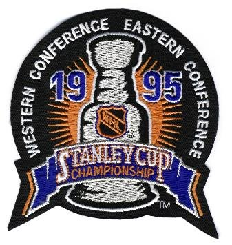 1995 NHL Stanley Cup Jersey Patch New Jersey Devils vs. Detroit Red Wings (Devils Stanley Cup compare prices)