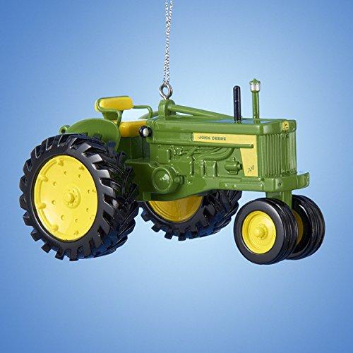 John Deere Tractor Wood Ornaments : John deere diesel tractor christmas ornament jr