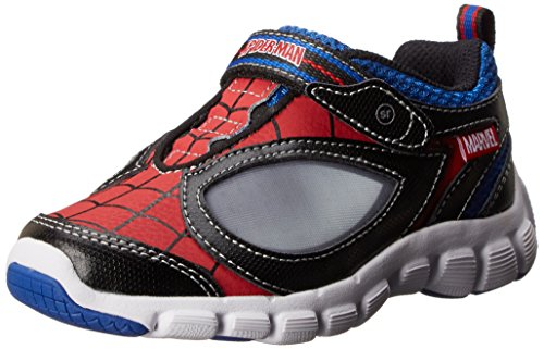 Stride Rite Spider-Man Spidey Reflex Lighted Character Athletic (Toddler/Little Kid),Red/Black,11.5 W Us Little Kid front-999968