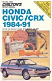 img - for Chilton's Repair Manual: All U.S. and Canadian Models of Honda Civic and Crx (Chilton's Repair Manual (Model Specific)) book / textbook / text book