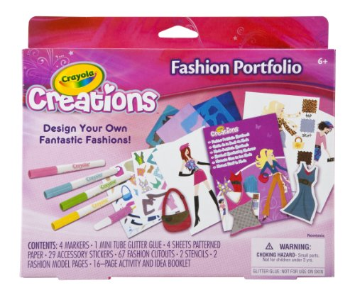 Crayola Creations Fashion Portfolio