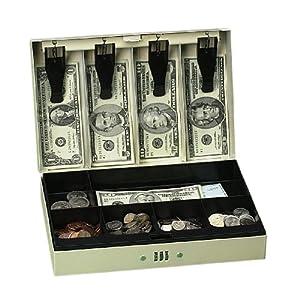 PM Company 997315 Combination Cash Box