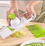 Mkono the 5 in 1 All Purpose Mandolin Super Slicer Grater Cutter Shredder Slicing Set - Kitchen Gadgets