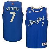 Carmelo Anthony New York Knicks #7 NBA Men's Christmas Day Swingman Jersey (Small)
