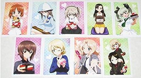ガールズ&パンツァー 劇場版 ガルパン バレンタイン カード 全9種 セット