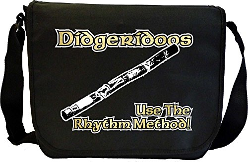 Didgeridoo Rhythm Method Expert - Sheet Music Document Bag Borsa Spartiti MusicaliTee