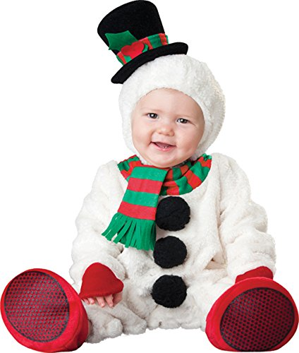 UHC Baby's Silly Snowman Christmas Holiday Theme Infant Toddler Child Costume, 12-18M (Silly Snowman Christmas Costume)