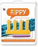 """Authentic Knitting Board Zippy Loom, 5.25 by 3"""", Yellow"""