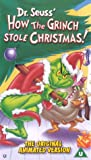 How The Grinch Stole Christmas (Animated) [VHS]