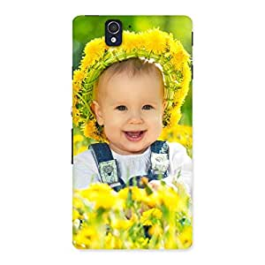 Premium Laughing Baby Girl Back Case Cover for Sony Xperia Z