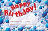 Happy Birthday Pat-on-the-Back Award (0742403564) by School Specialty Publishing