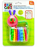 World of Eric Carle, The Very Hungry Caterpillar Rattle Teether with Links by Kids Preferred