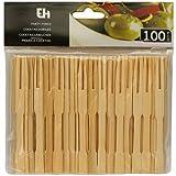 100 Cocktailspieße Cocktailsticks aus Holz