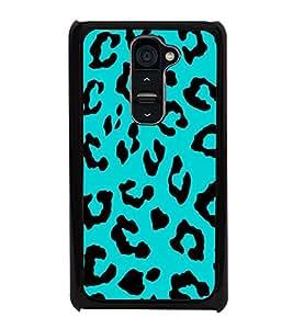 Tiger Print 2D Hard Polycarbonate Designer Back Case Cover for LG G2 :: LG G2 D800 D802 D801 D802TA D803 VS980 LS980