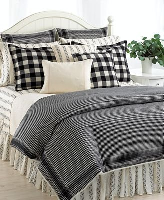 Black And White Vintage Bedding front-825517