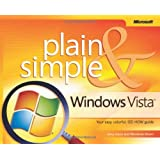 Microsoft Windows Vista Plain & Simple (BPG-Plain & Simple)by Jerry Joyce