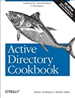 Active Directory Cookbook, 4th Edition Front Cover
