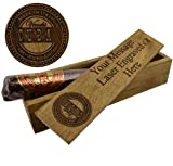 Personalised Chocolate Cigar Case, Fathers Day Gift or Personalised Gift