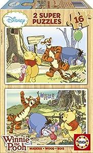Educa 14956 Puzzle 2x 16 Pieces Winnie the Pooh