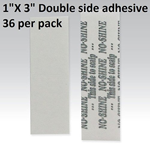 no-shine-bonding-double-sided-tape-walker-1-x-3-straight-strip-36-pieces-per-bag