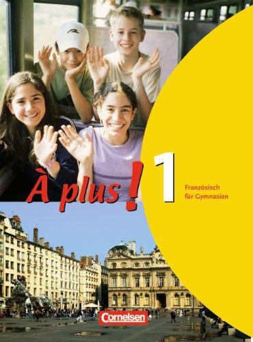 Buchseite und Rezensionen zu 'A plus! Franzosisch fur Gymnasien, Teil 1' von Hans Bächle