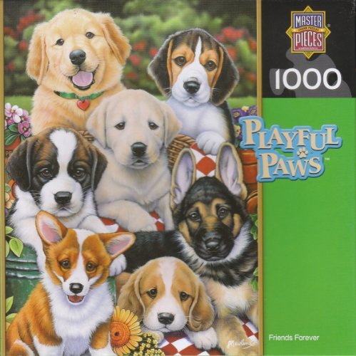 Friends Forever 1000 Piece Puzzle by Master