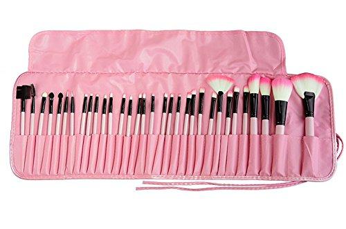 tammy-style-pinselsets-make-up-pinsel-set-32-stuck-rosa-kosmetik-bursten-mit-pouch