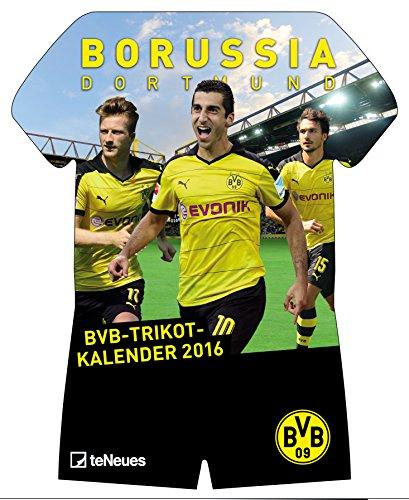 BVB Kalender 2016 - Borussia Dortmund Kalender / Trikotkalender 2016 -, Buch