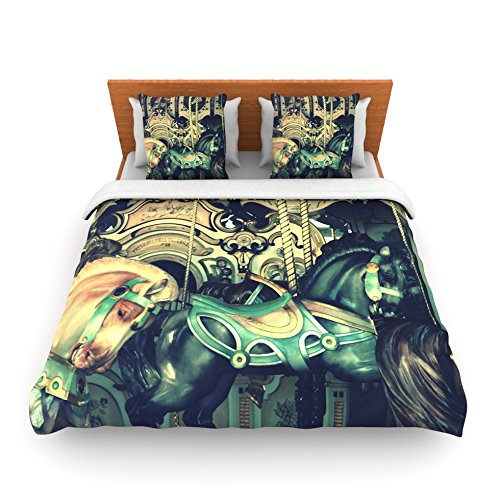 Twin Horse Comforter front-585983