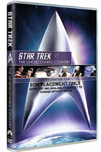 Star Trek 6: The Undiscovered Country [DVD]