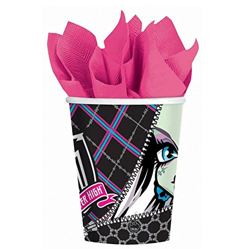 Monster High 9oz Paper Cups (8ct) - 1