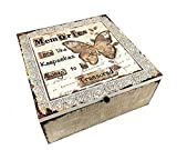 Memory Box Diseño de mariposas de recuerdos siempre ser Treasured