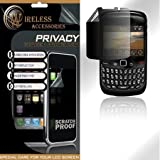 Blackberry Gemini 8520 Privacy Screen Protector + Free LiveMyLife Wristband ~ LowerPriceUSA