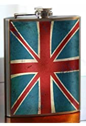 Union Jack Stainless Steel Flask