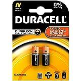DURACELL Lady Duracell de type N, LR1 , 4001, 4901, MX9100 , 910A (9100) alcalines de 1,5 volt 2 Blister