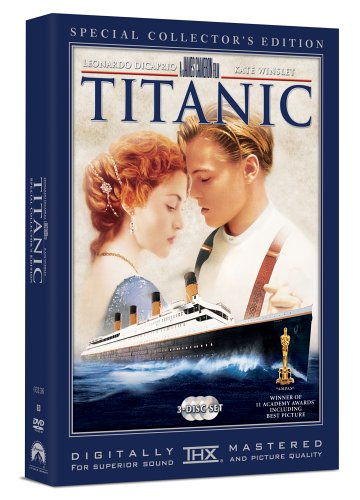 Cover art for  Titanic (Three-Disc Special Collector's Edition) (1997)