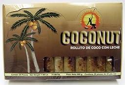 Coconut Milk Rolls Rollito De Coco Con Leche