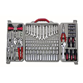 Crescent CTK170CMP Mechanics Tool Set, 170-Piece