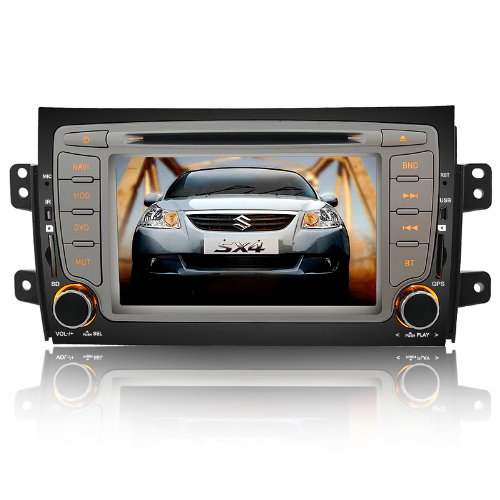 Koolertron For Suzuki Sx4 Indash DVD Player With GPS Sat Nav Navigation + 7